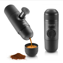 Hand pressing Coffee machine outdoor coffee cup car coffee sets minipresso easy use coffee bottle machine holiday gift(China)