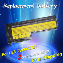 JIGU NEW LAPTOP BATTERY FOR IBM LENOVO X60 X61 X60S X61S Series 4 cells free shipping