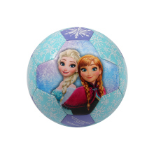 DISNEY Soccer Ball Kids sports Inflatable outdoor Toy PVC Plastic bouncing Ball Children Baby Christmas gift frozen printing(China)