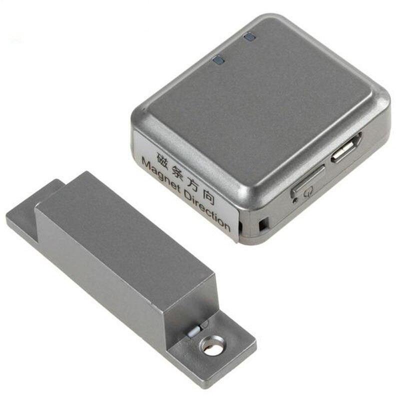 RF-V13 GSM Real-Time Tracker Smart Door Alarm Support Open / Close Door Alarm Magnetic Alertor Home Guard Mini Personal Tracker<br>