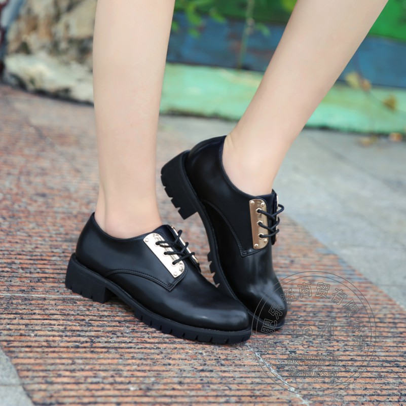 Pu Solid Black Decor College Style Shoes Oxford Shoes Women Soft Leather Designer Decent Womens Shoes Shoes<br><br>Aliexpress