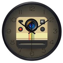 Funny Instant Camera Brand New Design Wall Clock