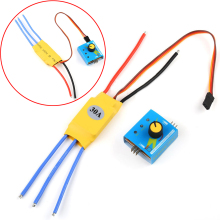 High-Power Brushless Motor Speed Controller 30A 12V DC 3-phase Regulator PWM Control