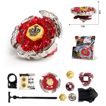 Beyblade Metal Fusion 4D Sets With Launcher Battle Gyro Children Gift Traditional Games For Kids Toys Battling Tops(China)