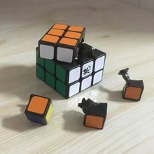 Professional DaYan Zhanchi 42mm Mini 3x3x3 Speed Magic Cube Puzzles Educational Toys Brinquedos(China)