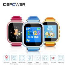 "DBPOWER T06S Child Smart Watch AGPS+LBS Positioning 1.44"" TFT Color Screen SOS Alarm Anti Lost Watch Support Russian English"