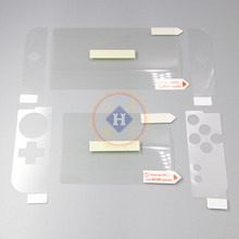 HOTHINK 8pcs/set top & Bottom LCD Screen Protector Film Guard whole Skin stiker for Nintendo New 3DS XL 3DS LL(China)
