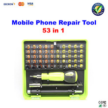 Mobile repair: 53 in1 Screwdrivers Set Star Pentalobe 0.8 1.2 for iPhone Mac Android Samsung Galaxy free shipping