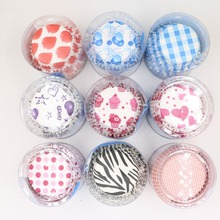 100pcs/lot PVC good packing Paper Cupcake Wrappers Muffin Kitchen Baking Cups Greaseproof Paper Cupcake Liner Decoration
