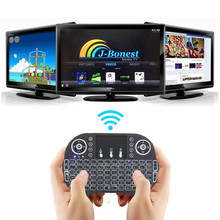 Remote Control Touchpad 2.4GHz Wireless Mini Keyboard Backlit LED Dimmable USB Keyboard For TV BOX PS3 XBOX 360 PC BT0739 T150.4(China)