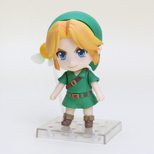 NEW 10cm Legend of Zelda Link Majoras Mask FIGURE ONLY Limited-Edition PVC action figure toy Christmas gift with box
