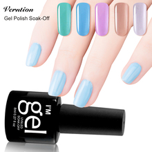 Verntion Manicure Glue 2017 New 29 Colors UV Gel Nail Polish Varnish Nail Art Soak Off LED Lamp Lucky Gel Polish Lacquer
