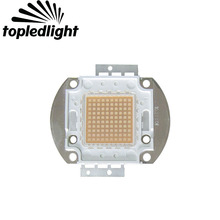 Topledlight Customize 45MIL 100W High Power Led Emitter Light UV Purple 420NM - 435NM 2000-3000LM 30-36V 2000mA For Fishing Led
