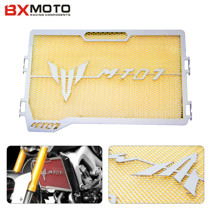 Motorcycle accessories For Yamaha MT 07 MT-07 mt07 2014 2015 Engine Radiator Bezel Grille Protector Grille Guard Cover protector<br>