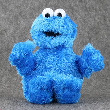 NEW OFFICIAL Sesame Street Cookie Monster 30cm Beanie Plush Soft Toy