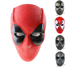 Deadpool Airsoft Fiberglass Mask Marvel Wade Wilson Mutants XForce Cool Tactical CS Wargame Military Mask Hunting Accessories(China)