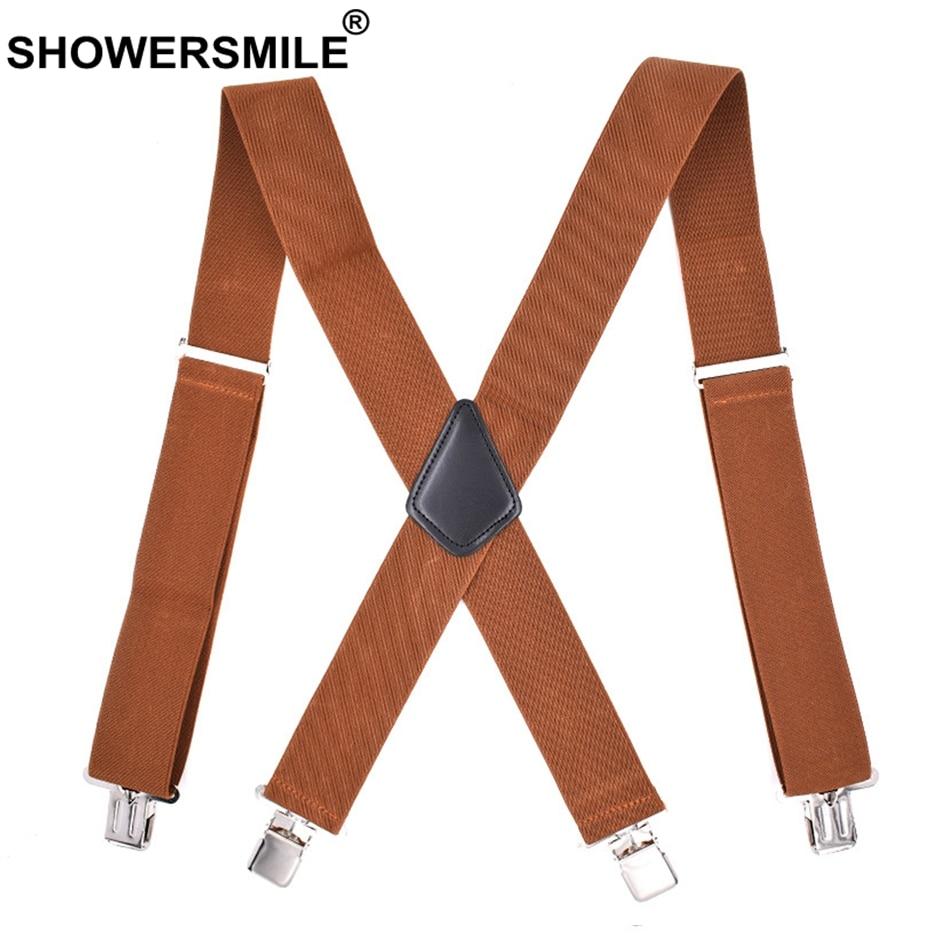Men's Suspenders Mantieqingway Nylon Shirts Holders Suspensorio For Mens Elastic Business Garter Braces Adjustable Legs Shirts Suspenders Durable Modeling