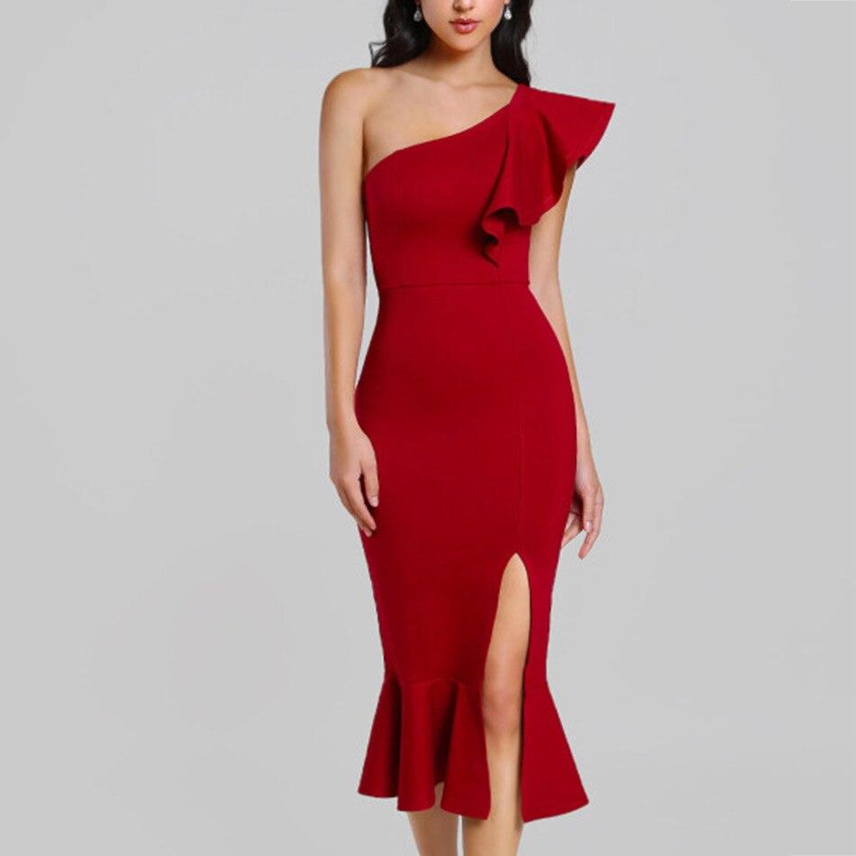 seamyla-women-bandage-dress-sexy-one-shoulder-mermaid-bodycon-evening-party-dresses-3