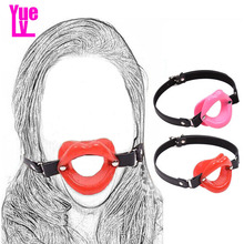 Buy YUELV Adult Game Open Mouth Gag Oral Fixation Mouth Stuffed Fetish Slave Gag Erotic Toys Bondage Harness Sex Toys Couples