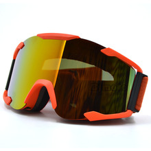 MG-019 Man/Women Goggles Smoke Lens Orange Frame Motocross Goggles Glasses Sport Helmets Off Road Gafas for Motorcycle Dirt Bike(China)