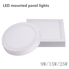 9W 15W 25W Square LED Panel Light Surface Mounted LED Ceiling Down Light indoor Lighting Lamp 85-265V(China)