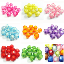 12mm /16mm/20mm Chunky Transparent Big Irregular Faceted Beads In Beads