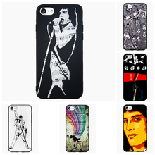 Freddie Mercury Queen Cell Phone Case For iPhone iPod 4 5s 6s 7 Plus For Nokia Lumia N5 N6 HTC For Blackberry Cover Shell Gift