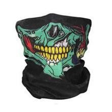 Halloween Scary Skull Masks Skeleton Easter Motorcycle Bicycle Mascaras Disfraces Scarf Half Face Mask Terror Cap Neck Ghost