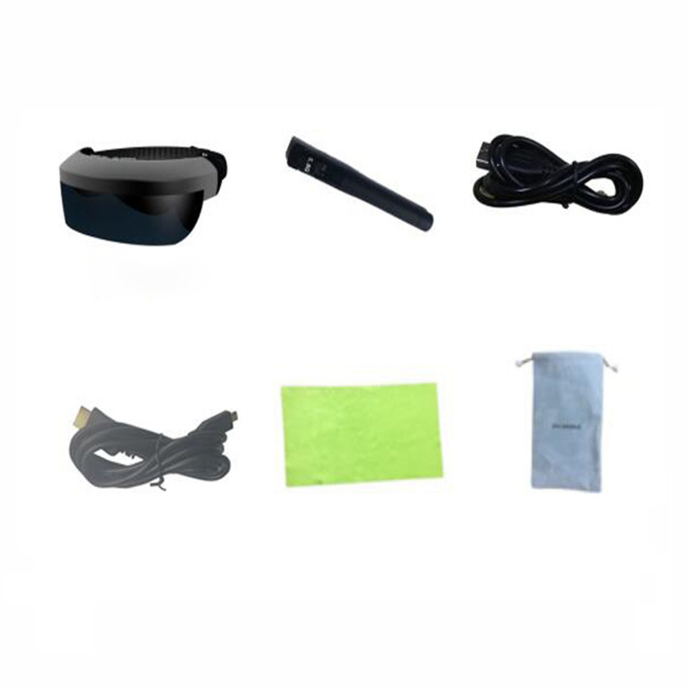 98inch 5.8G 40 Channels FPV Goggles HDMI-IN Virtual Video Glasses eyeglasses Private Theater RC Drone FPV Receiver