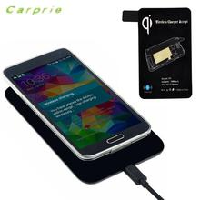 CARPRIE New Coming Lovely Qi Wireless Charger + Receiver Tag For Samsung Galaxy S5 i9600 G900 quick charge portable charger