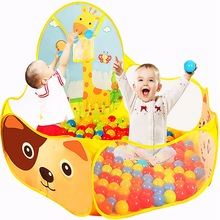 New Children Kid Ocean Ball Pit Pool Game Play Tent Kids Hut Pool Play Tent Children's Tent House Indoor Outdoor Game Toys Gift