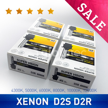 WHOLESALE 2pcs D2S D2R HID Bulbs HID xenon headlight bulb D2 headlamp light 4300K 5000K 6000K 8000K 10000K 12000K GLOWTEC