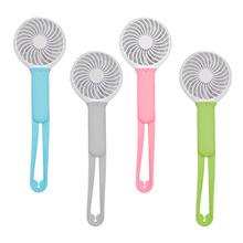 Mini Usb hand fan Battery Ventilator Recargable Cooling Portable fan Led Light Air Conditioner Cooler Adjustable Usb fan Blower