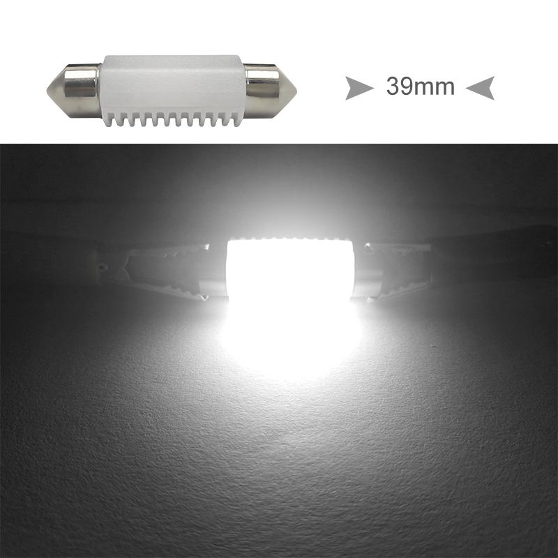 CNSUNNYLIGHT High Quality C5W C10W LED 31mm 36mm 39mm 41mm CANBUS Car Festoon Light Auto Interior Dome Lamp Reading Bulb White 12V 24V (15)