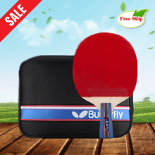 Table tennis racket Pimples-in rubber Carbon Fiber  Ping Pong Racket bat for attack and loop Butterfly Zhang Jikeng low price