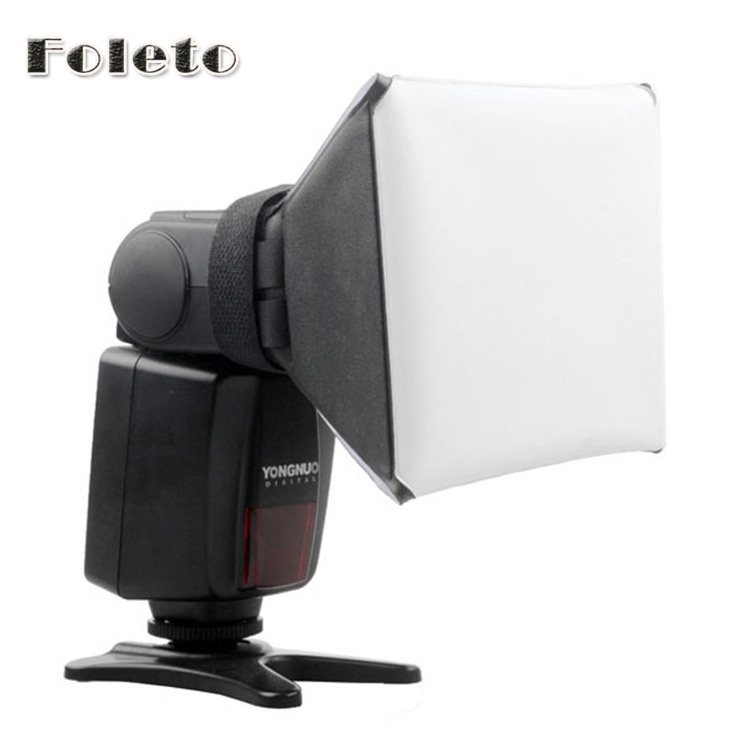 wholesale 100 NEW Universal Portable Flash Diffuser for Canon Nikon Sony DSLR flash Speedlite SB 800