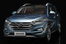 Diecast Car Model All New Hyundai Tucson SUV 1:18 (Blue) + SMALL GIFT!!!!!