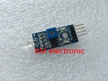 1pcs/lot,small PCB board,3.3 V - 5 V,Photoelectric diode,photosensitive light brightness sensor,intelligent car sensor module