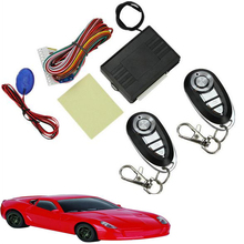 New Keyless Entry System Universal Car Remote Central Kit Door Lock Locking Vehicles(China)