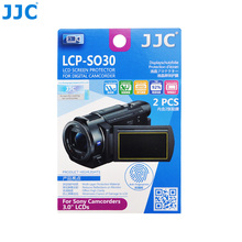 JJC LCD Guard Film for Sony Camcorders 3.0'' LCDS 2PCS PET Video Screen Protector 67.0(W) x 38.3(H)mm Camera(China)