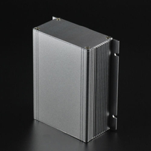 1pc Extruded PCB Instrument Box Aluminum Electronic Power Enclosure Case 88x39x100mm(China)