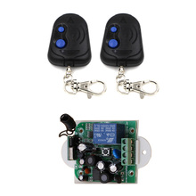 AC85V 110V 220V 250V RF Wireless Remote Control Relay Switch Security System Garage Doors & Rolling Gate Electric Doors