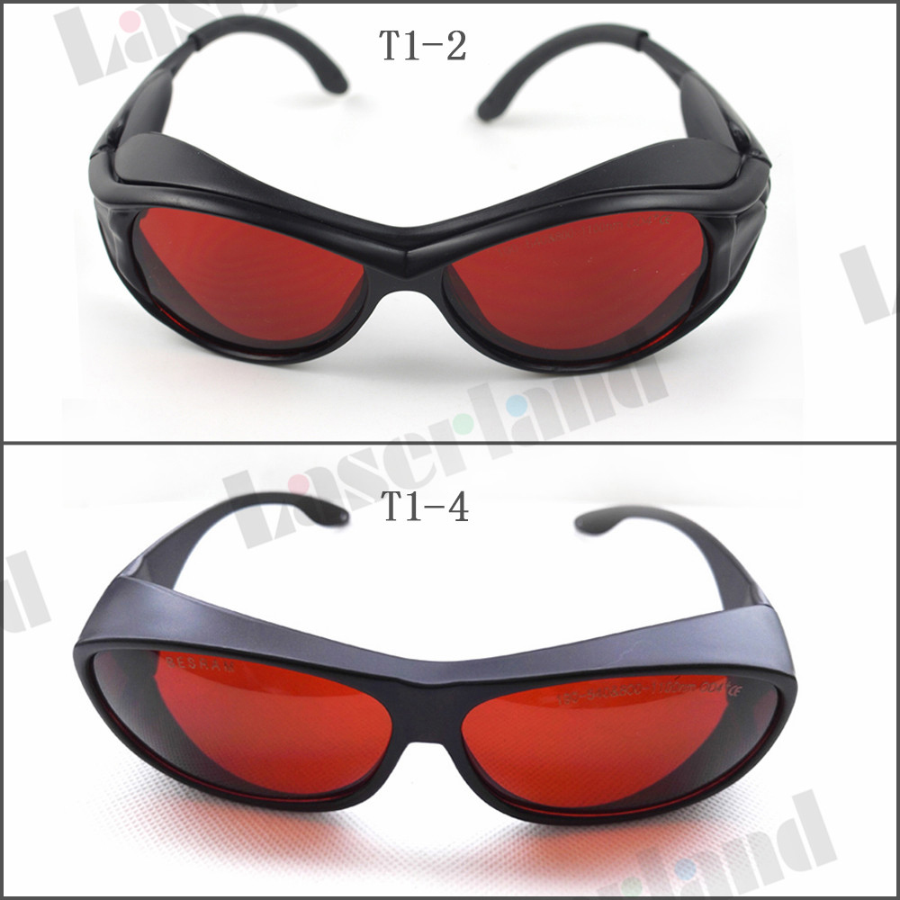 SK-1 190-540nm 514nm,515nm,520nm,532nm UV Blue Green Laser Protective Goggles Safety Glasses CE OD4+ OD5+<br>