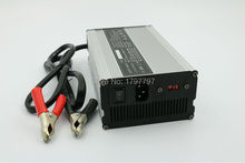 24 Volt 15 Amp Lead acid Battery Charger for Dynamo Battery DC 29.4 v with Clamps(China)