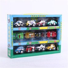 12 pieces/set Diecast cheap dinky toys tomy tomica Matchbox hero city antique miniature small toy collectible model cars(China)