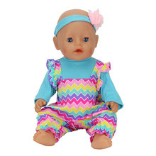 New Arrivals Dolls Suits Fit For 43cm Baby Born Zapf Doll Reborn Baby Clothes 17inch Doll Accessories