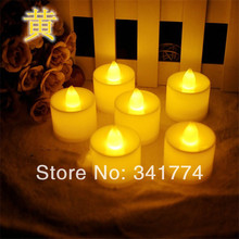 7 color Luz De LED electronic Tea light Candle Night Lights for Christmas New Year Home Birthday Party Bar Luminaria Decoration