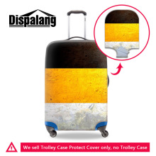 National Flag Series Elastic Stretch Luggage Protective Cover Apply To 18~30Inch Trolley Case Travel Suitcase Cover Easy Washing(China)
