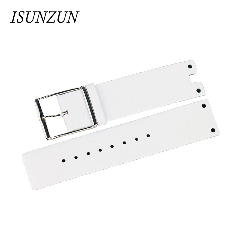 ISUNZUN Watch Band Womens For CK K9423101/K9423107/K9423162/K9423193 Watch Strap Brand Genuine Leather Watchbands Women And Men<br>