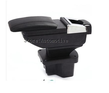 For Kia Rio K2 2012-2014 Car armrest Tidy box central Store content box with cup holder ashtray products accessories
